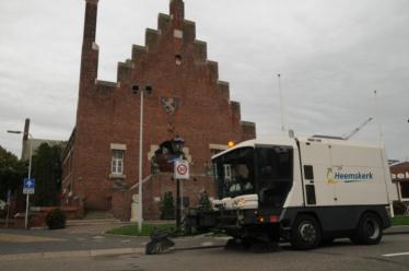 Heemskerk straatreiniging - Veegmachine