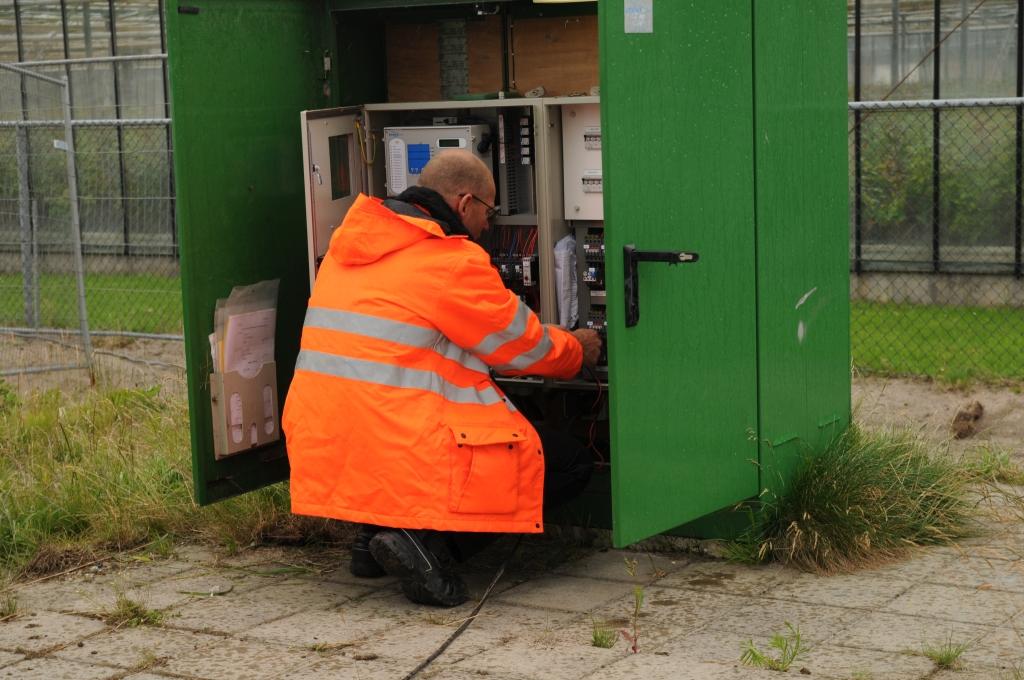 Inspectie van pompen, gemalen en riolering